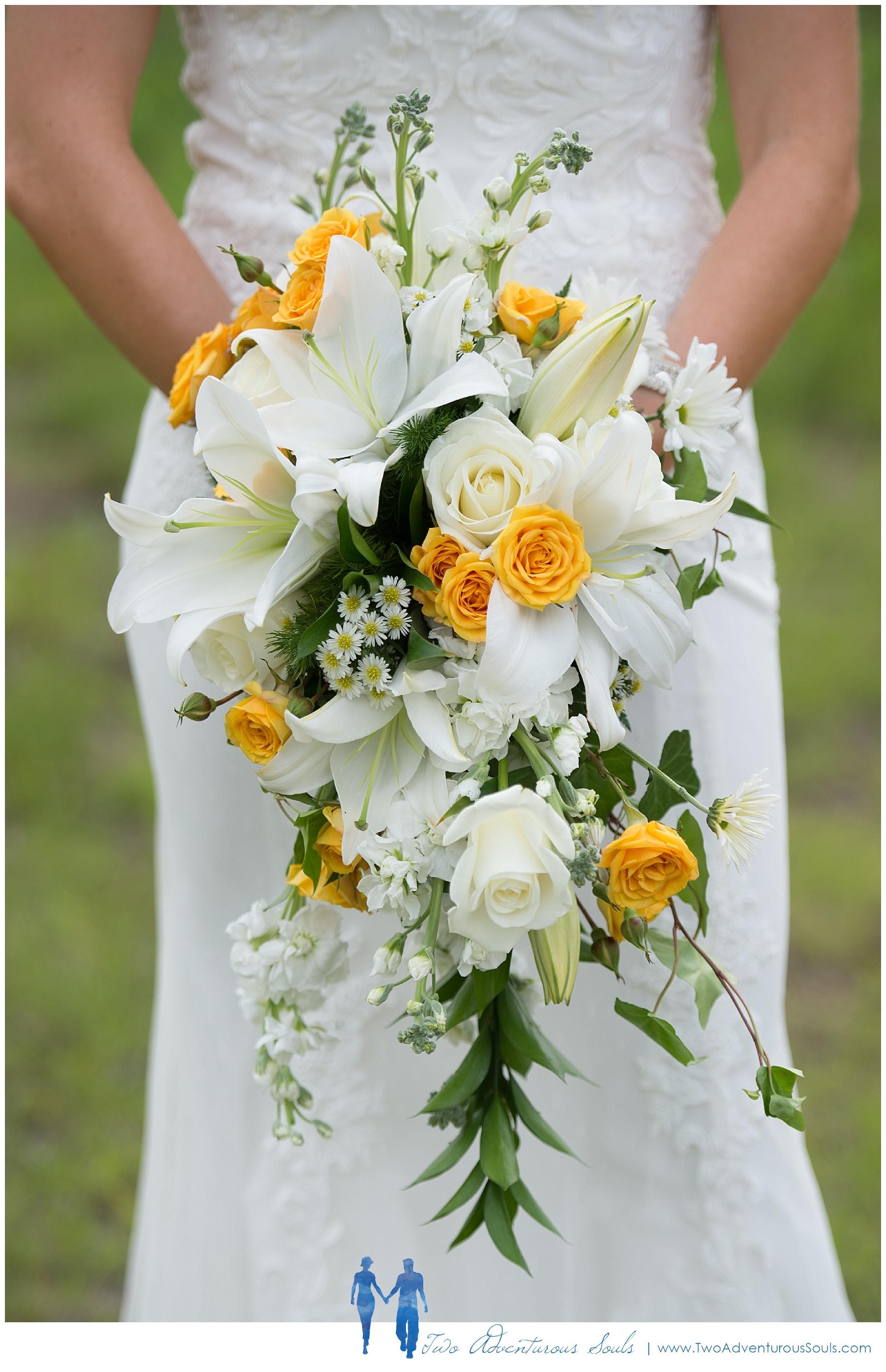 Sunday River Wedding, Maine Wedding Photographers - Stunning Wedding Bouquet