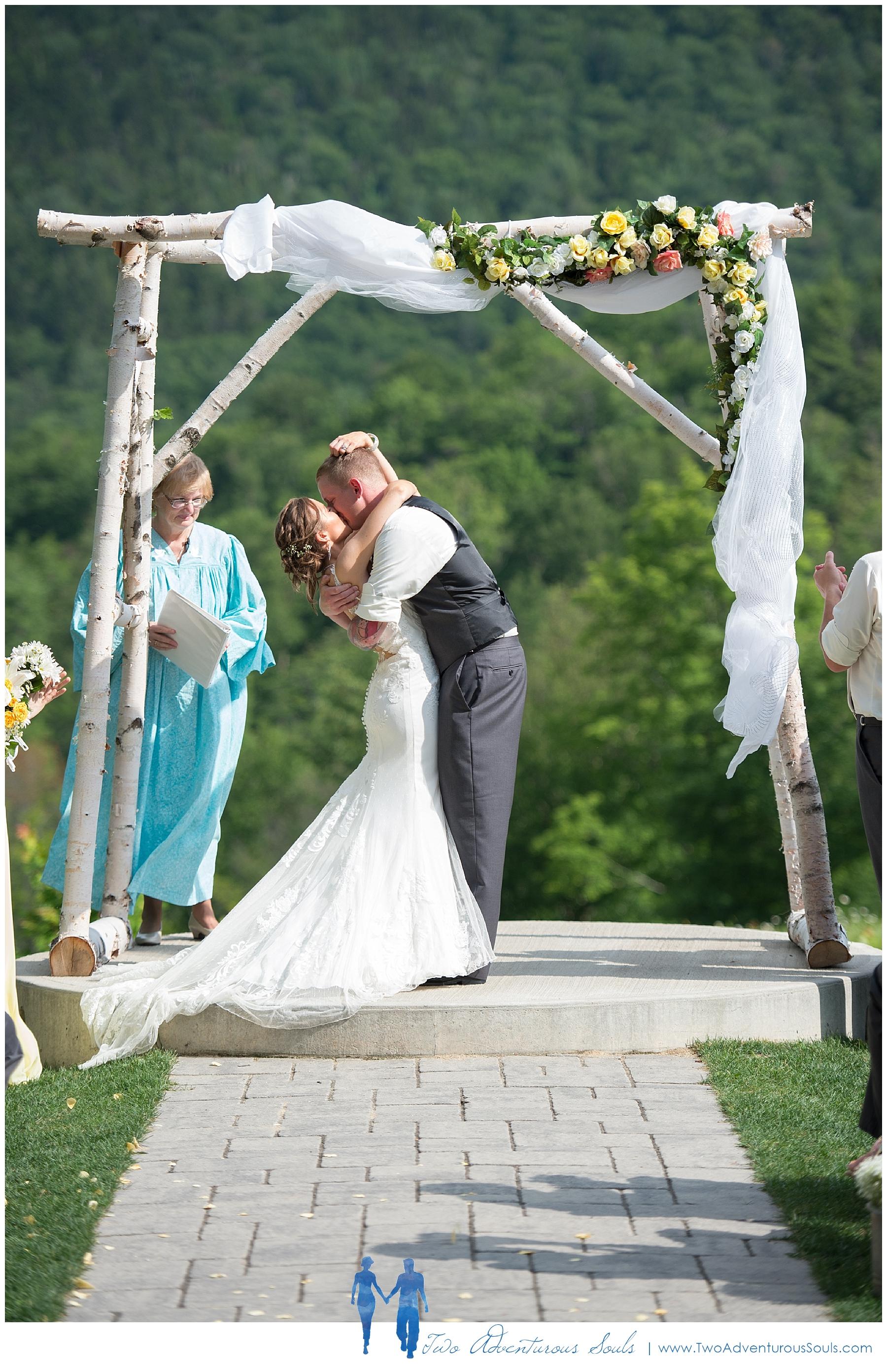 Sunday River Wedding, Maine Wedding Photographers - Sunday River Ceremony