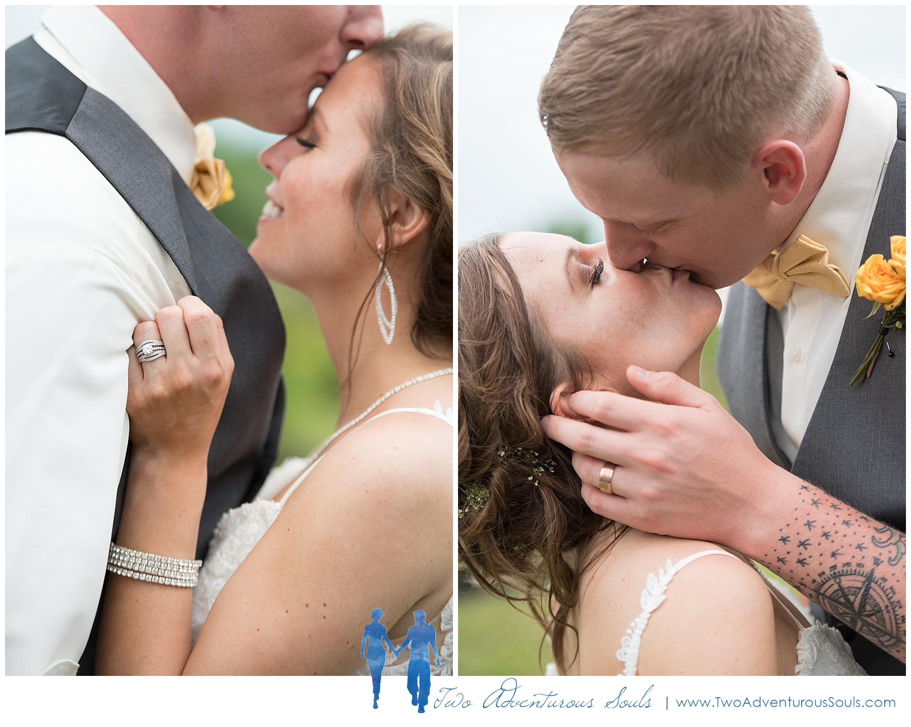 Sunday River Wedding, Maine Wedding Photographers - Romantic Wedding Portraits