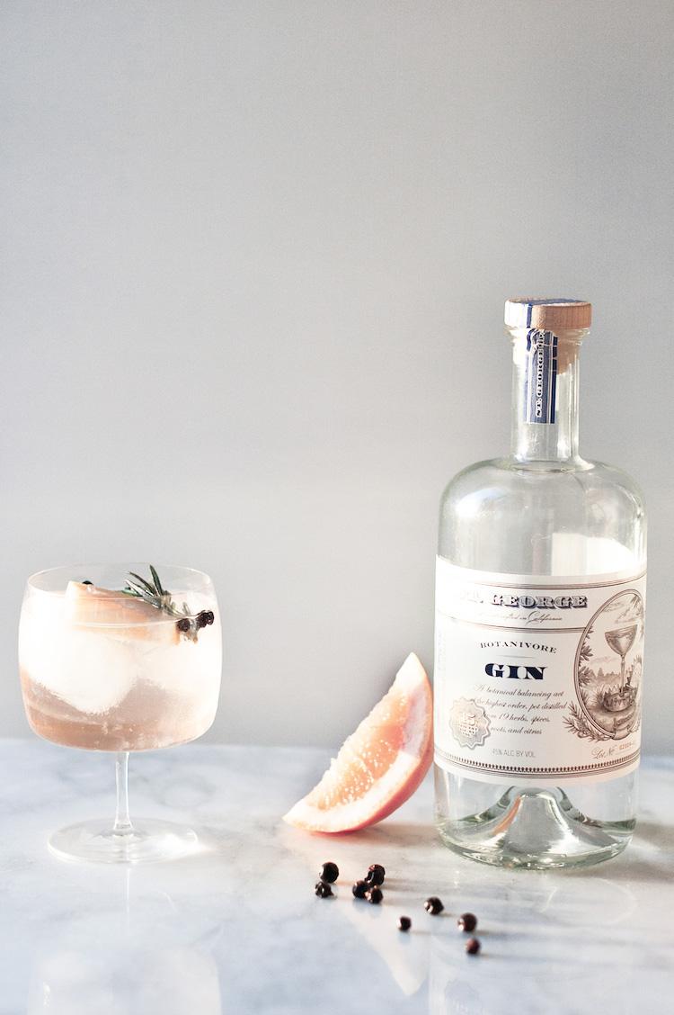Elderflower Gin & Tonics - Photo via    craftandcocktails.co
