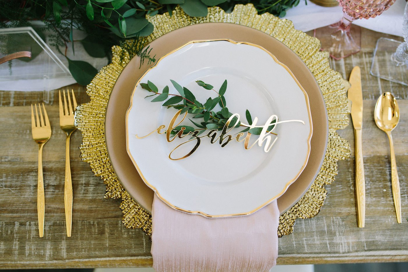 Place Cards by    Happily Ever Etched