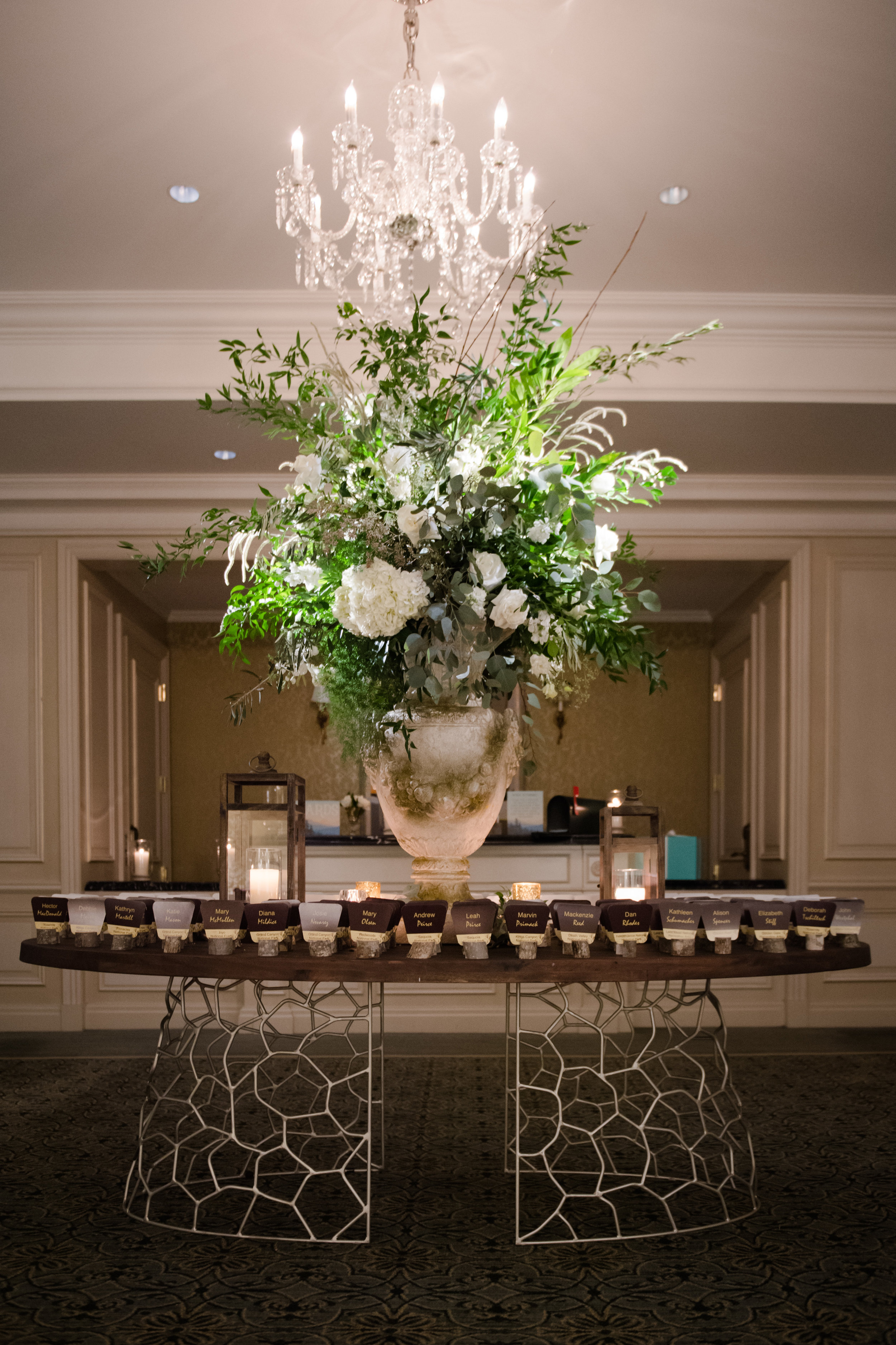 Design & Floral:    Kehoe Designs    | Lighting & Sound:    BlackOak Technical Productions    | Photo:    Studio This Is Photography    | Venue:    Four Seasons Hotel Chicago