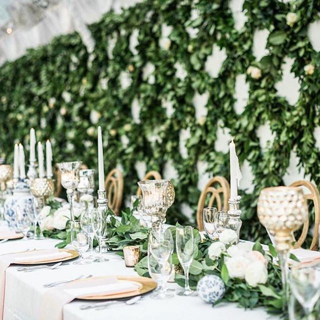 Beautiful backdrop for this couple's head table!  Floral Design @harveydesignssavannah  Photo by @vitorlindophotovideo  Event Design by @poshpetalsandpearls  #engaged #engaged💍 #isaidyes #isaidyes💍 #heasked #weddingplanning #weddinginspiration #wedding #bride #engagementring #weddingring #engagement #engagements #wedding #bridalbox #bridalsubscriptionbox #bridalgift #subscriptionbox #bridalsubscriptionbox