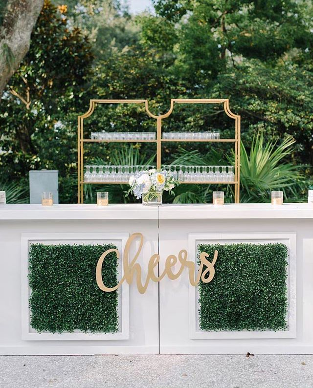 Cheers to this beautiful outdoor bar display!  @afoxevent @pphgevents @aaronandjillian  #engaged #engaged💍 #isaidyes #isaidyes💍 #heasked #weddingplanning #weddinginspiration #wedding #bride #engagementring #weddingring #engagement #engagements #wedding #bridebox #bridalbox #bridalsubscriptionbox #bridalgift #weddingbox #bridegift #subscriptionbox #subscriptiongifts #engagementbox #engagementgift