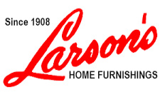 LARSON'S HOME FURNISHINGS  342 S Mill St. Redwood Falls, MN 56283 507-637-8346