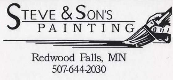 STEVE & SONS PAINTING  110 Beachwood Ln Redwood Falls, MN 56283 507-644-2030