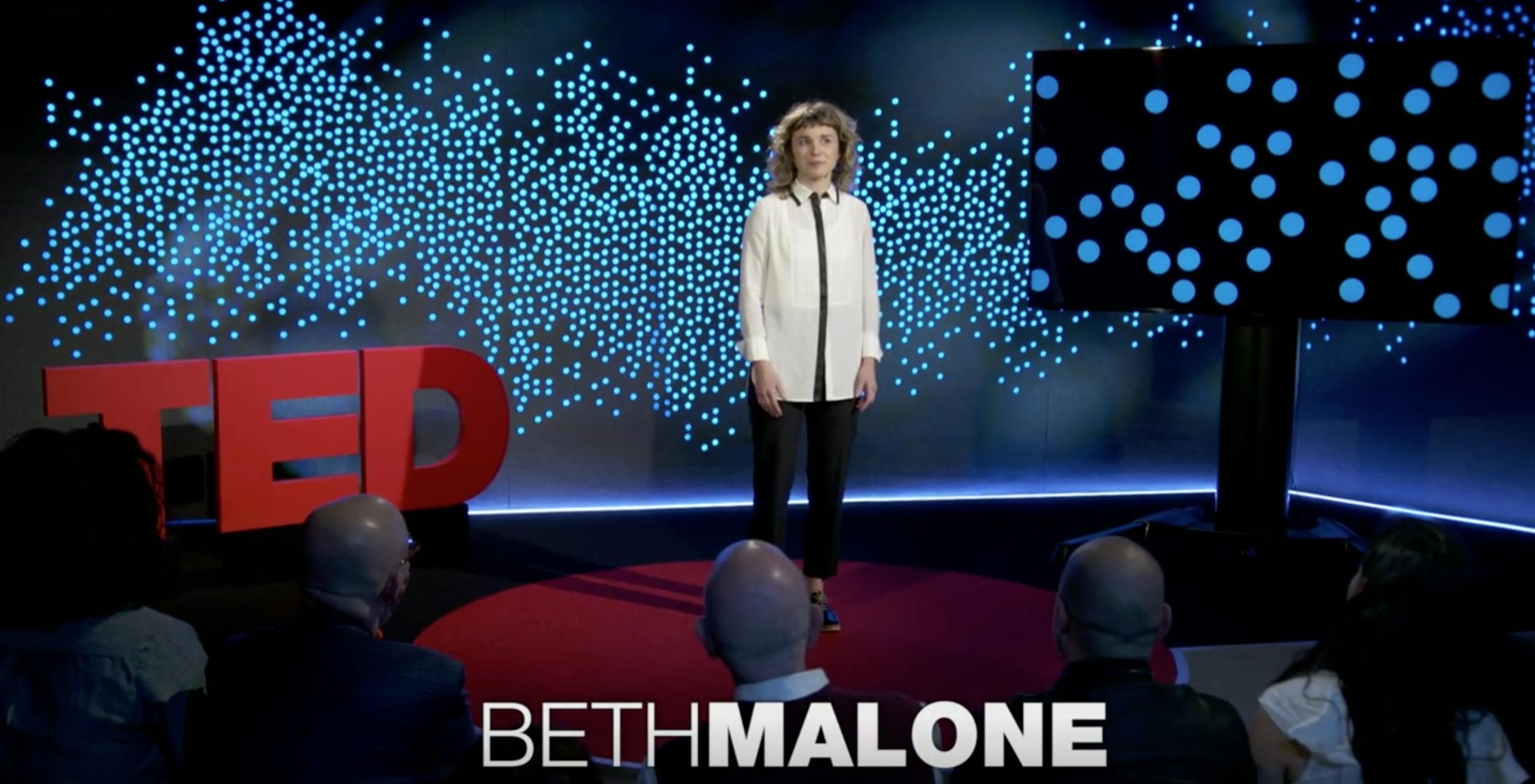 CCI ALUM: Beth Malone | TED Residency