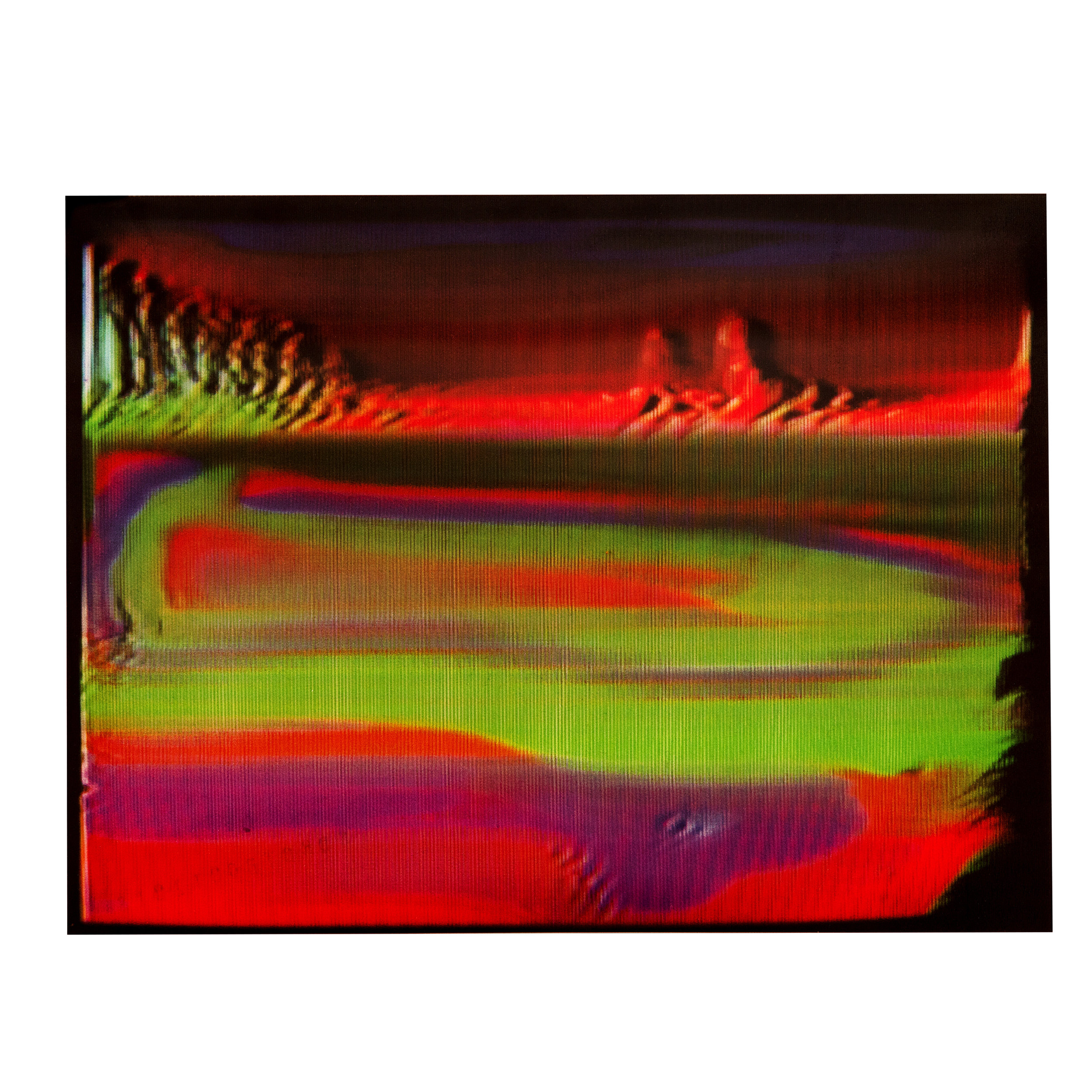 """large 11"""" x 8.25"""" lenticular print of Continuous limited to 7"""