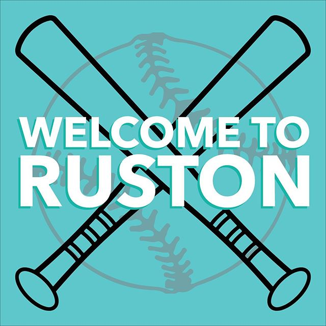 From all of us to you, WELCOME TO RUSTON! Enjoy your stay in our wonderful little city. Stop by @mainstreetexchange_ruston tomorrow from 10a-3p for some game-day popcorn and lemonade!