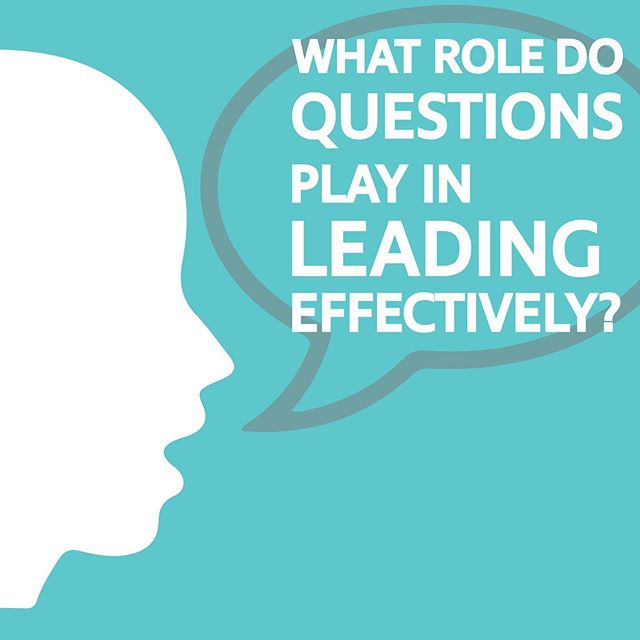 """In a world where we always expect our leaders to have the answers, what role do questions play in leading effectively?"" Check out what #Forbes has to say about it! Link in the bio."