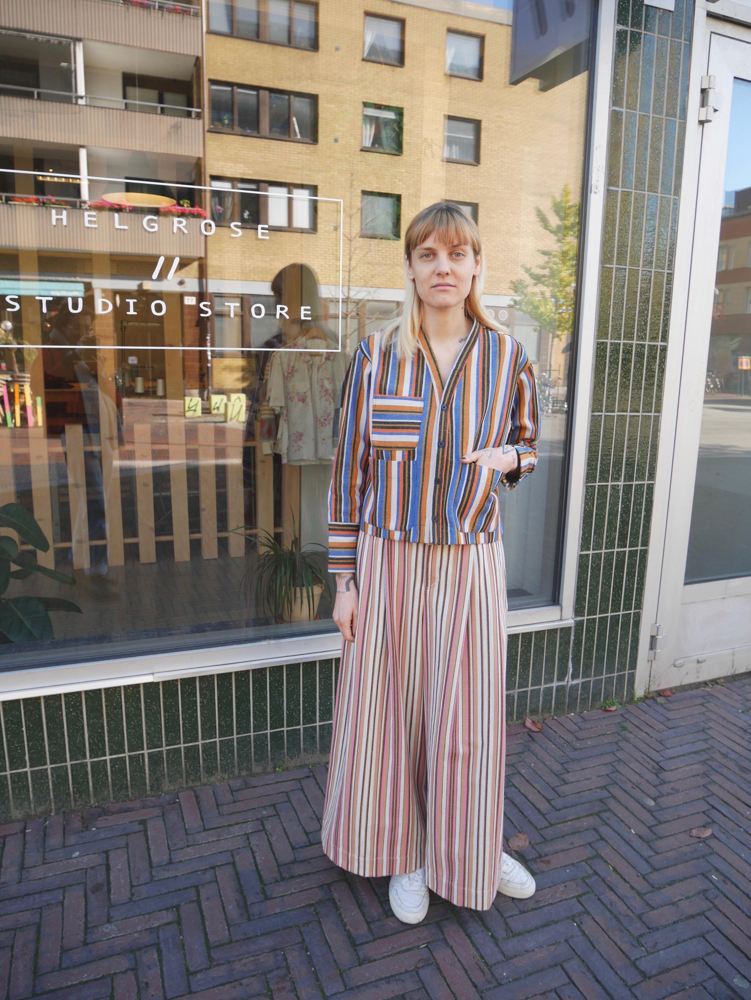 re-purposed vintage textile workwear jacket