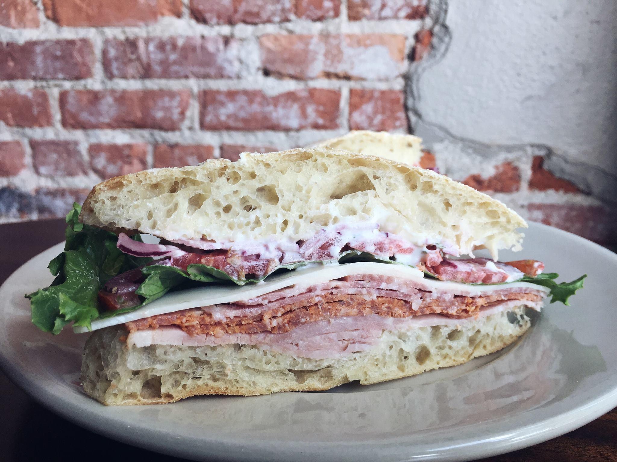 City Bakery Asheville, NC - Italian Sandwich