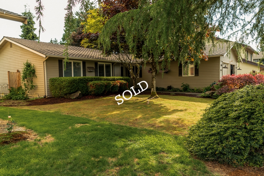 Renton, Washington - This older home has been well maintained and is move in ready with updated kitchen and bathrooms.