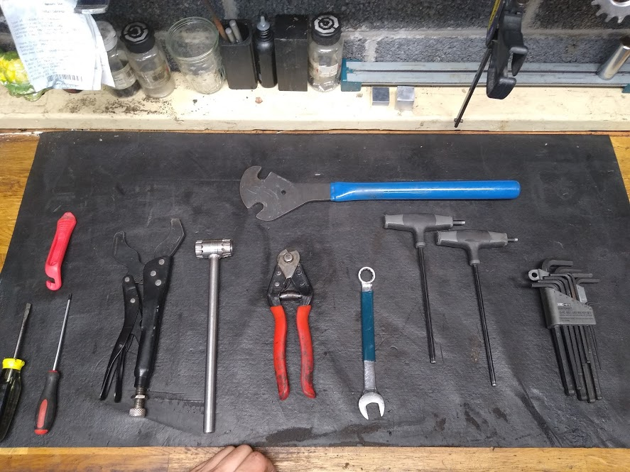 most commonly used tools in the shop