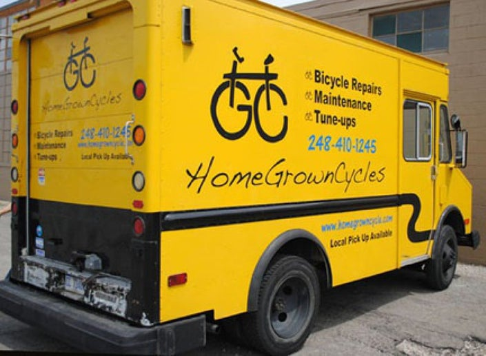 "HGC Mobile repair shop ""big yellow"""