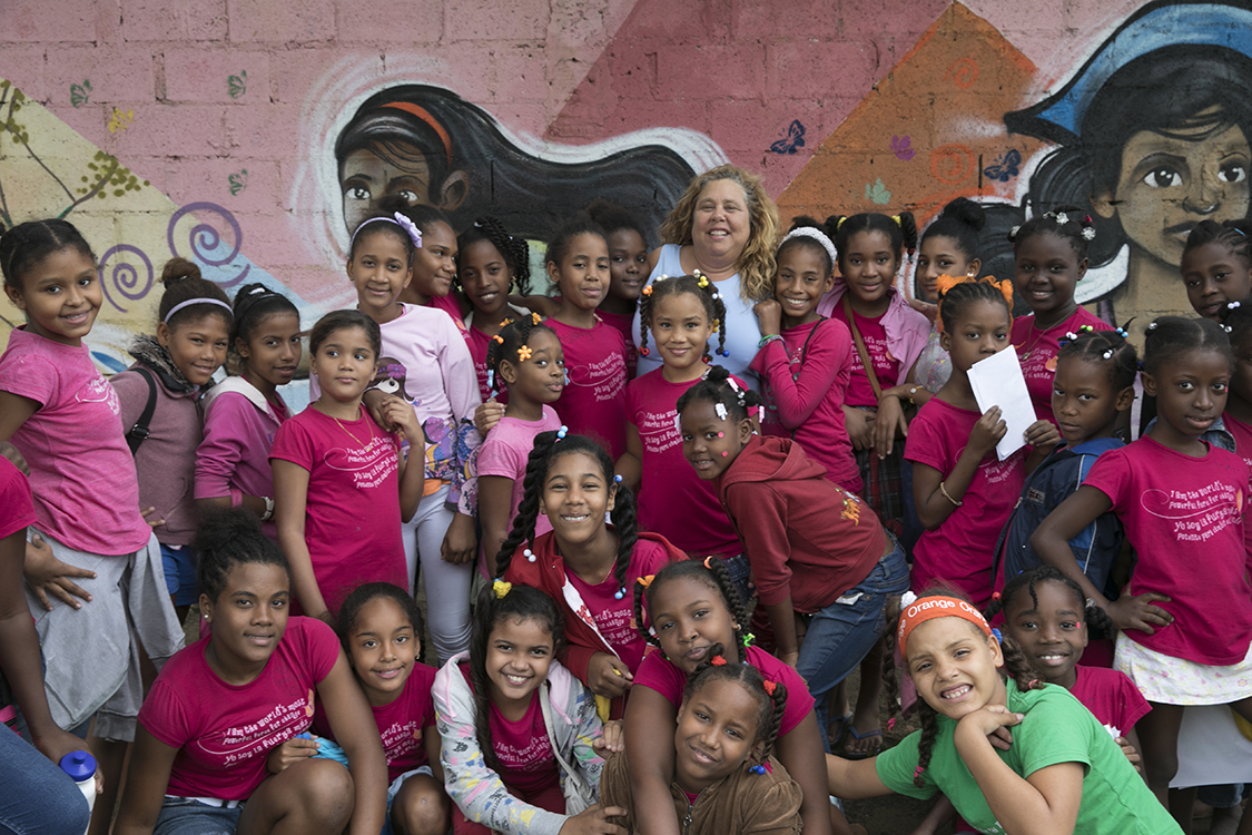 Patricia Suriel,  Founder and Executive Director  Patricia Thorndike Suriel has been passionate about alleviating extreme poverty in the Dominican Republic since 1992 when she first arrived on the island of Hispaniola. Beginning with collecting donations of a few books through her adventure travel company, Iguana Mama, to create the first library, she then joined with friends, colleagues, and volunteers from around the world to mobilize the establishment of the first educational nonprofit, The DREAM Project, in Cabarete. For these pioneer initiatives she received the Outstanding Citizen Award from the U.S. Embassy in the Dominican Republic, which recognizes contributions made by a U.S. citizen abroad. After serving the Cabarete community and advocating for equal access to quality education for more than 15 years, Suriel recognized a critical need for innovative programs specifically for girls. In 2009, in partnership with a group of passionate advisors, donors, volunteers and community members, Suriel founded The Mariposa DR Foundation – a nonprofit dedicated to educating and empowering girls to end generational poverty. Today, the Mariposa Center for Girls in Cabarete, Dominican Republic serves more than 150 girls ages 8-21 and their families and has hosted over 2,000 international visitors who are eager to learn about Mariposa's work.