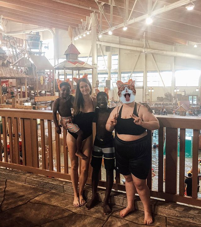 Weekend away with my boys✨ Can't ever go wrong with waterslides💁🏼‍♀️ . . . #vacation #greatwolflodge #family #getaway #staycation #raisingboys #fosterlove #fostercare #fostertoadopt #fostertoforever #lovemakesafamily #childhoodunplugged #adoption #adoptionrocks #fosteringteens #blackboyjoy #momlife #raisingteens #lightofmylife #sonshines #washington #pnw