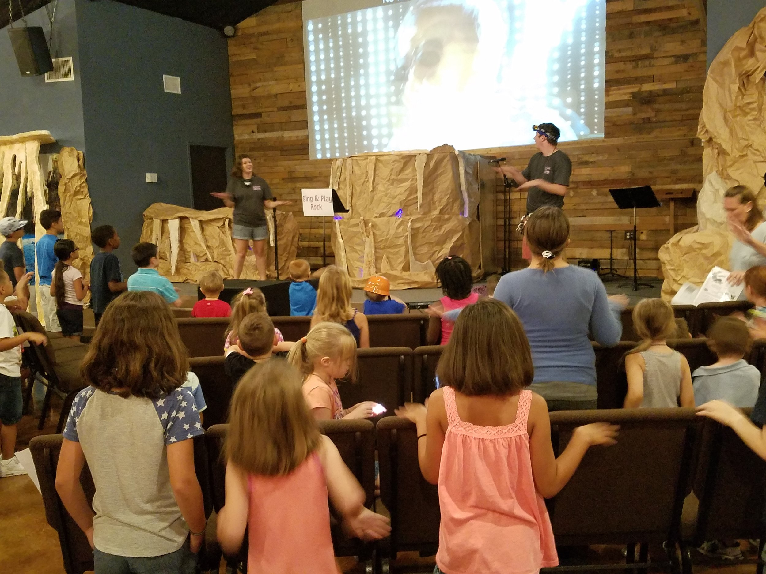 Journey Kids - At Journey Kids we desire for Christ to be known and experienced on a level that kids can learn and explore the amazing grace of God.  Follow the link below for more information on our Journey Kids Ministry.