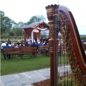 Harp Music at Berry Barn