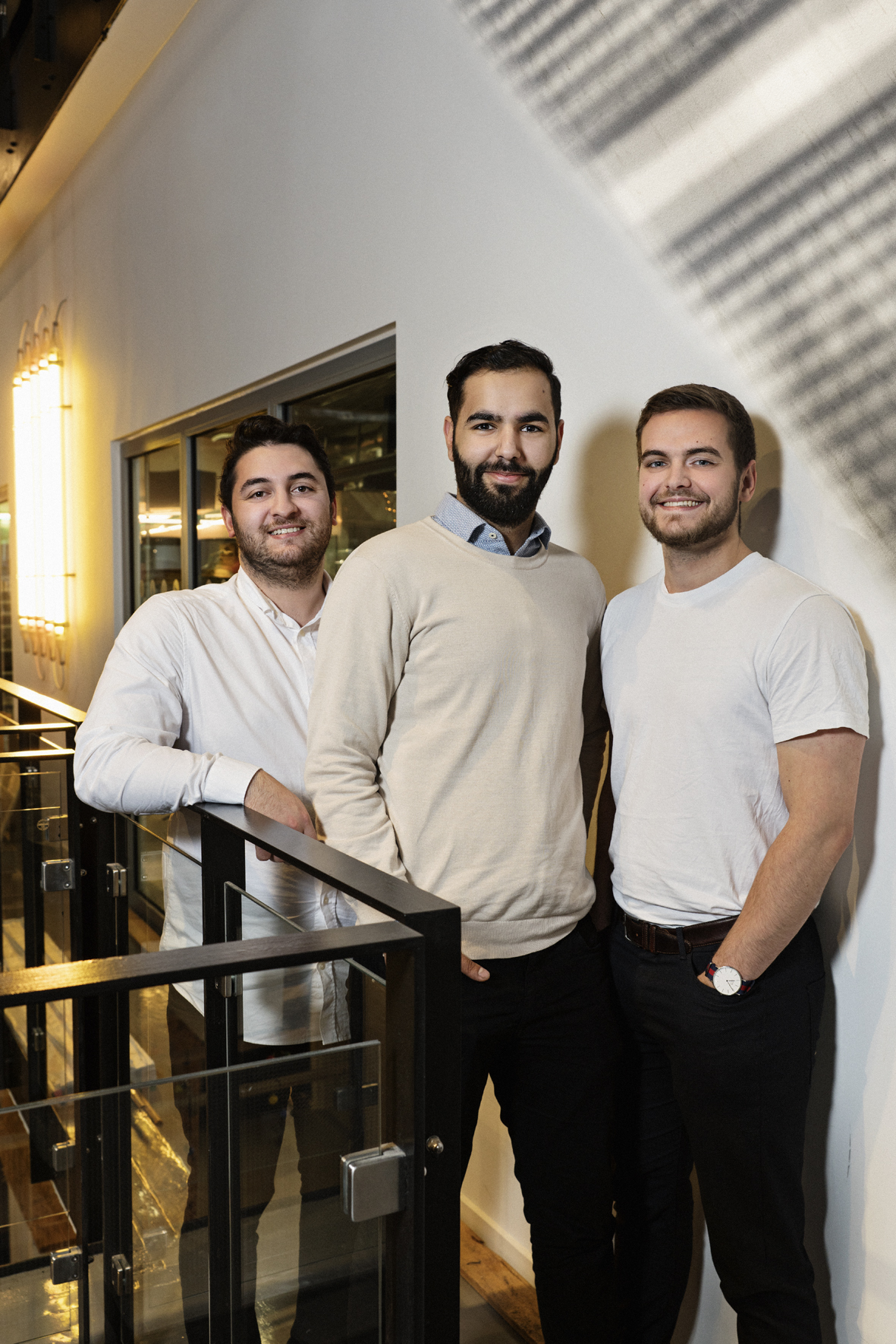 Servet Coskun, Christopher Weis Thomasen og Erkan Taskiran er ildslæjene bag Seasony.