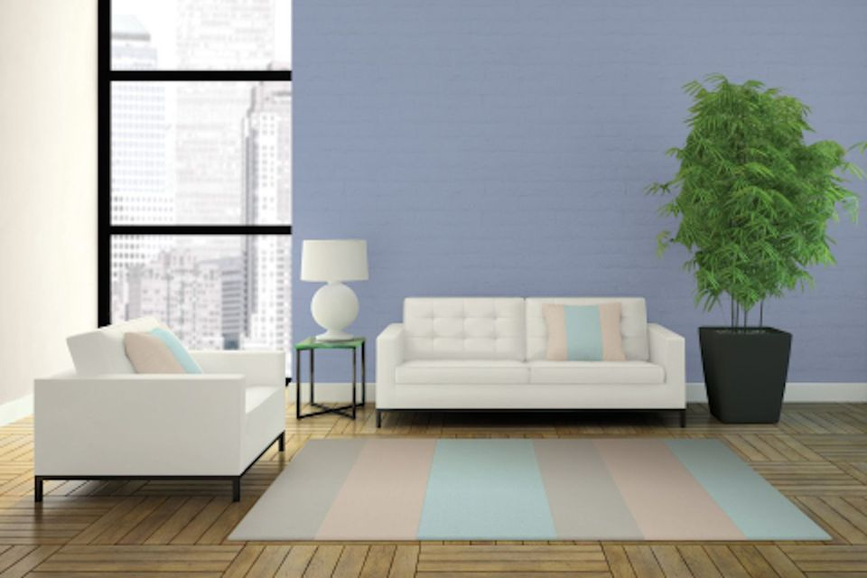 Glidden Byzantine Blue color of the year