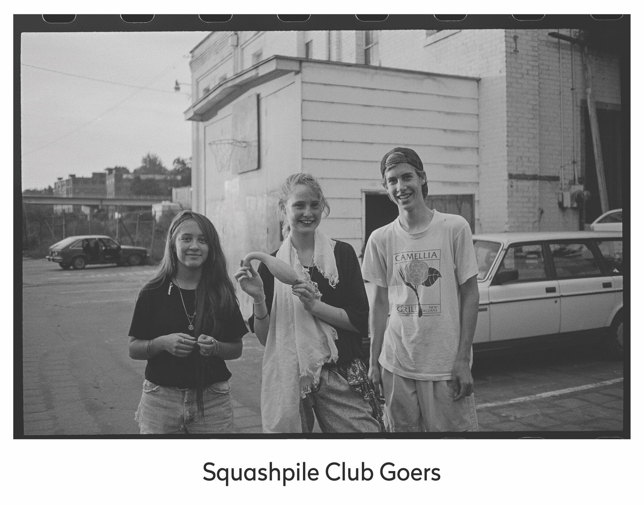 Squashpile Club Goers.jpg