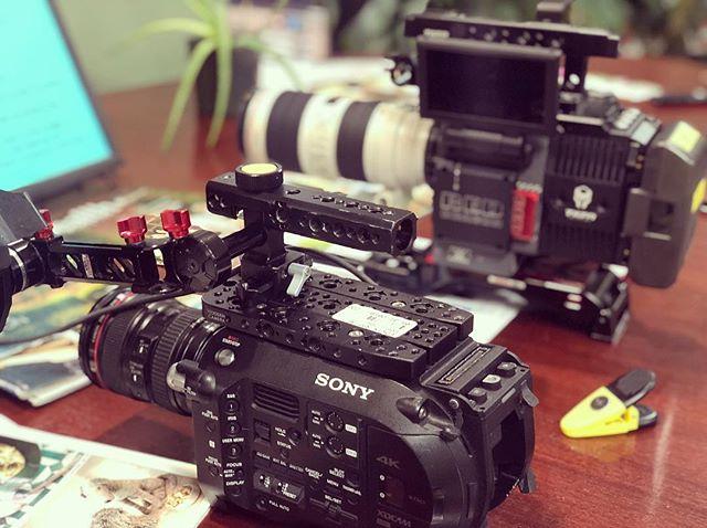 FS7 vs RED Dragon 🐉 Love both Cameras #reddragoncamera #sonyfs7 #filmproduction #videoproduction #chicagovideoproduction #cuatromedia