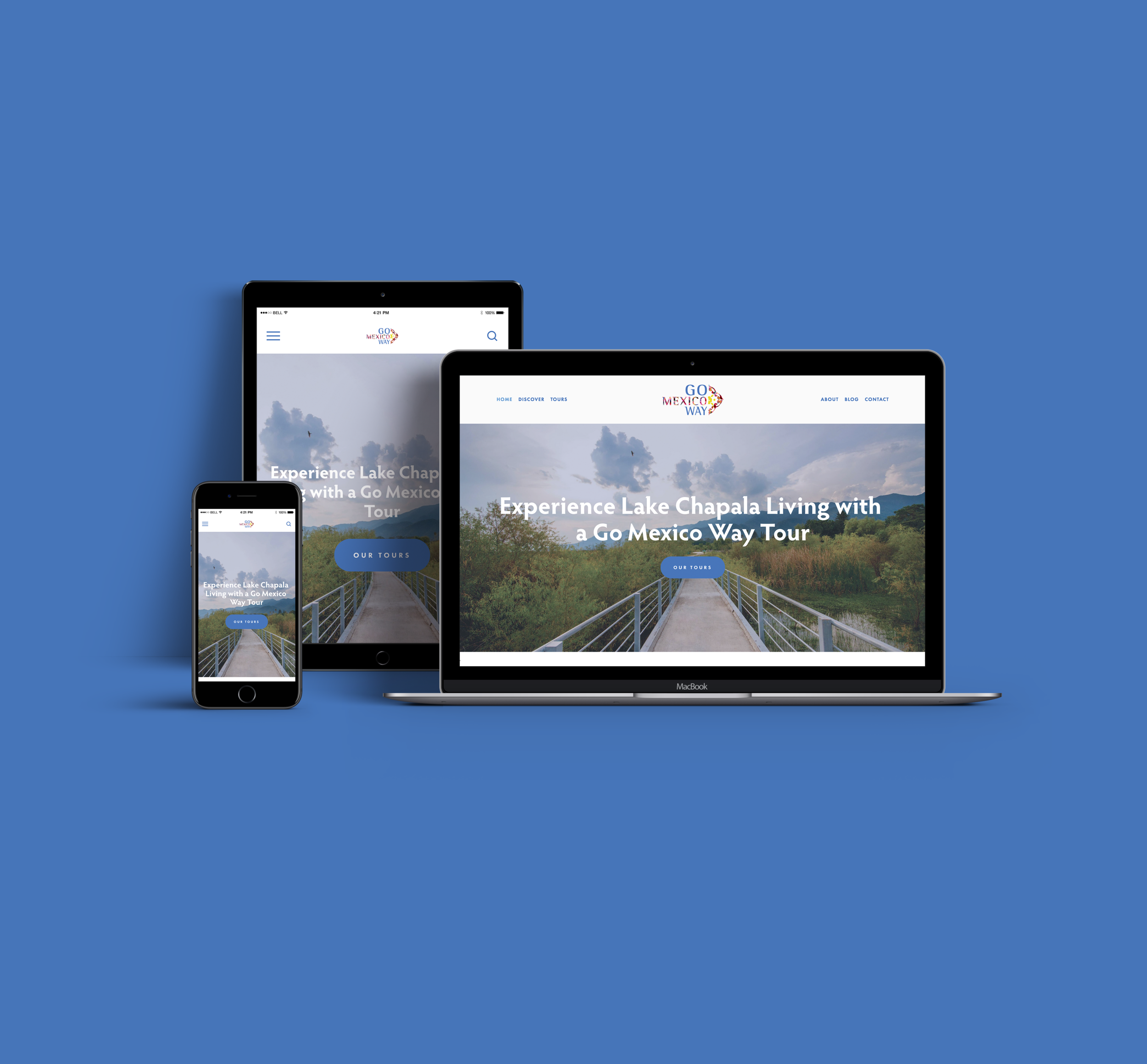 Chapala TourismThat Gives Back - Responsive website design for Go Mexico Way