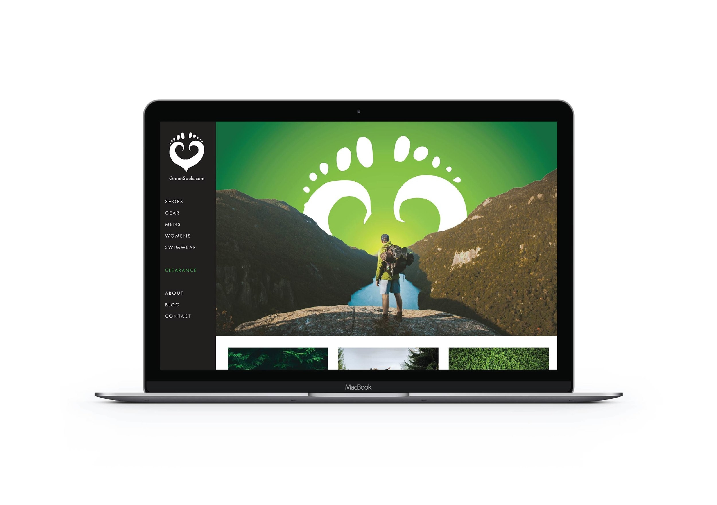 I Designed My Dream Client's Website - Identity & web design fro greensouls.com (Fictional work)