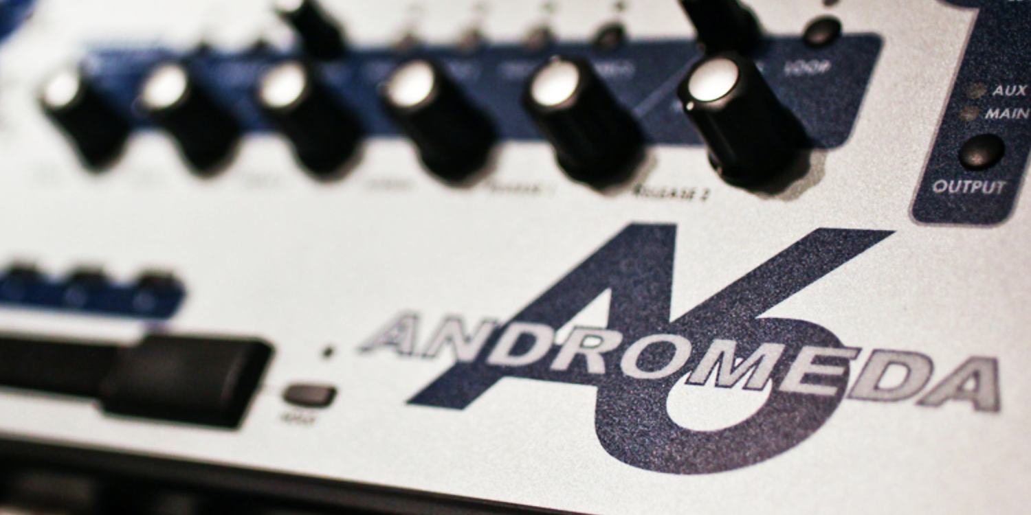 Alesis Andromeda A6     Sync Master - Arpeggiator    > Audio Out Jitter - 116 samples (2.42ms)    Sync Slave - Arpeggiator - MIDI Clock    > Audio Out Jitter - 116 samples (2.42ms)