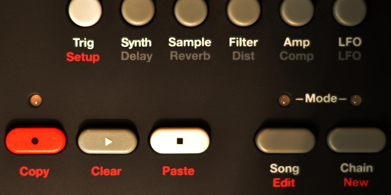 Elektron - Analog RYTM MK1/OS 1.45B     Sync Master    > Audio Out Jitter - 32 samples (0.67ms)    Sync Slave - MIDI Clock    > Audio Out Jitter - 32 samples (0.67ms) > Start Latency - 152 samples (3.17ms)    Source Event - MIDI Note    > MIDI Note RX to Audio Out Jitter - 20 samples (0.42ms) > Note On Latency - 174 samples (3.62ms)