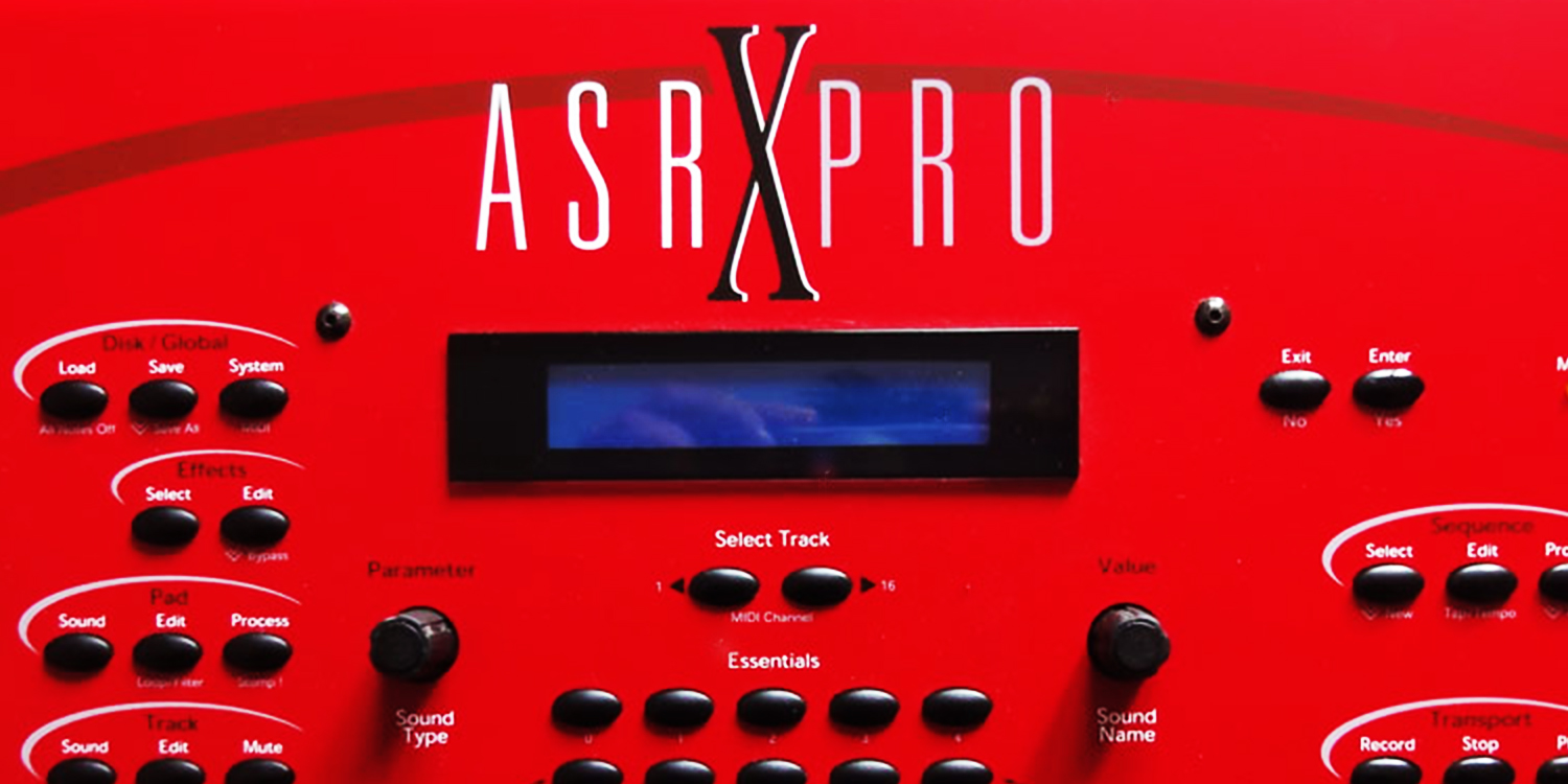 Ensoniq - ASR-X PRO     Sync Master    > Audio Out Jitter - 234 samples (4.87ms)
