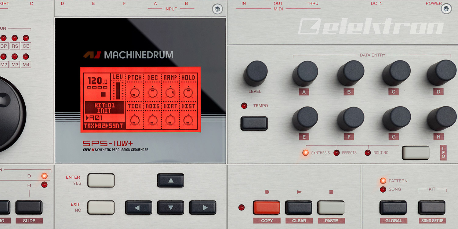 Elektron Machine Drum SPS-1MKIIUW     Sync Master    > Audio Out Jitter - 104 samples (2.17ms) > MIDI TX Jitter - 77 samples (1.60ms)    Sync Slave - MIDI Clock    > Audio Out Jitter - 104 samples (2.17ms) > MIDI TX Jitter - 66 samples (1.37ms) > Start Latency - TBC