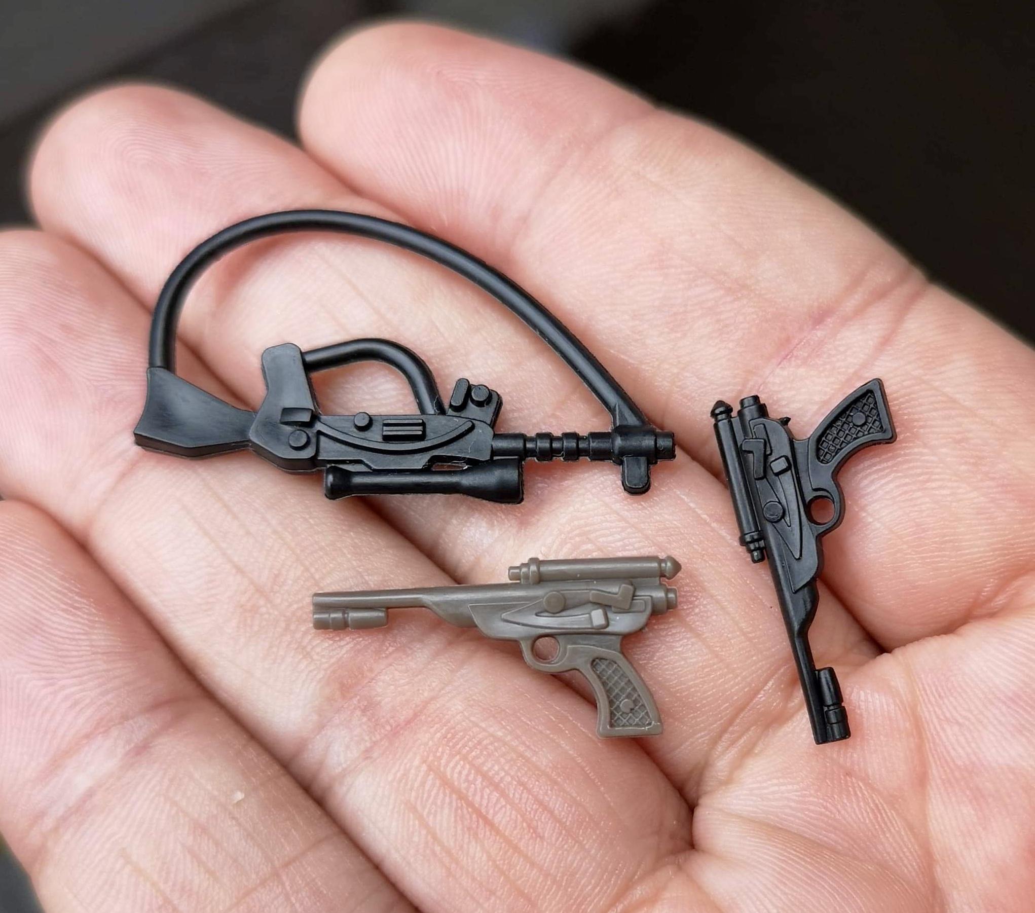 Star Wars Replacement Blue Han Solo Smuggler Blaster Gun Repro