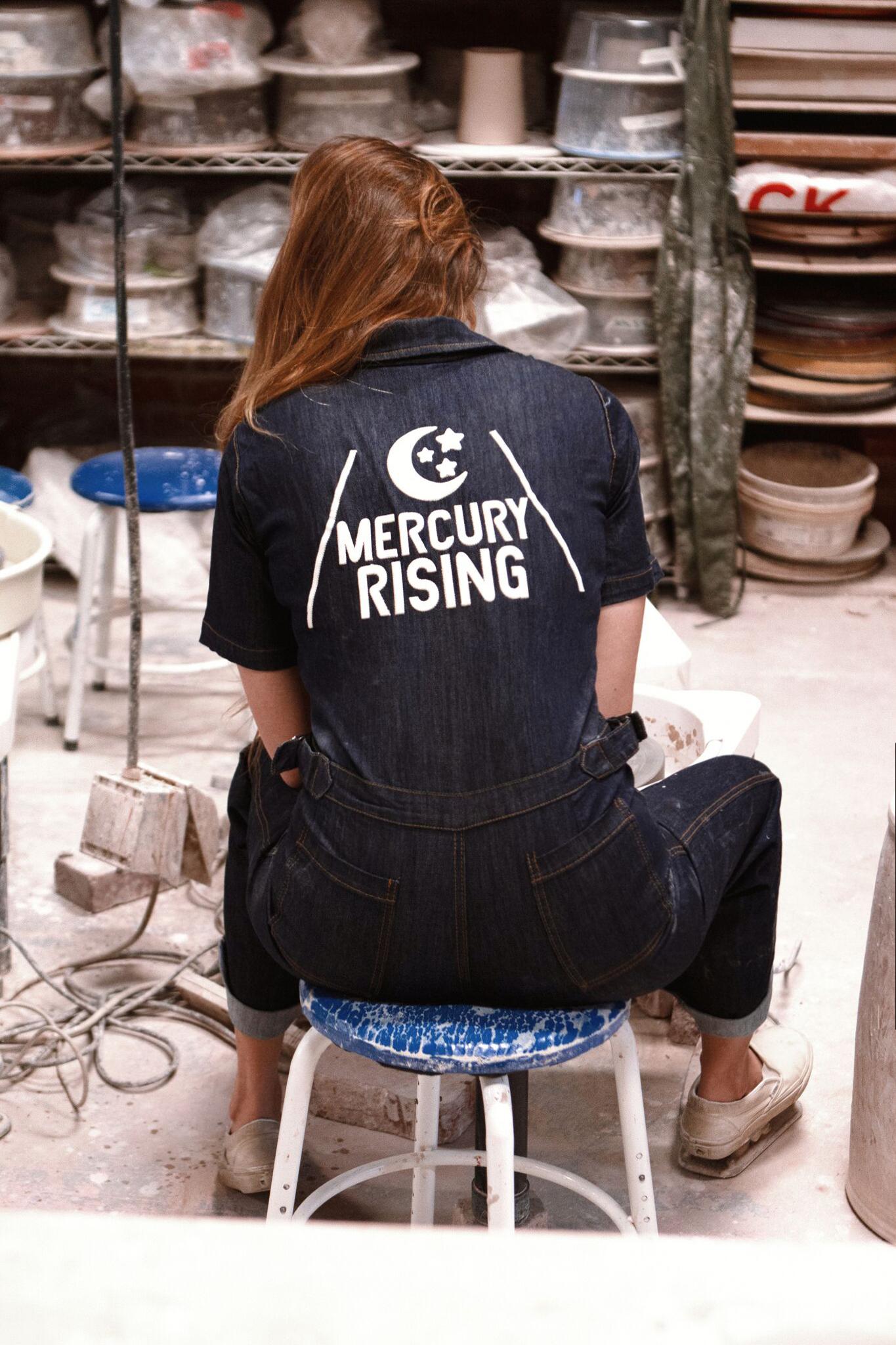 Mercury Rising Coveralls ~ Denim