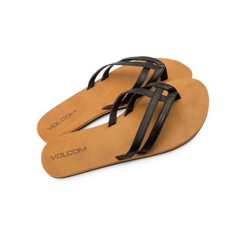 Volcom Crosstown Sandal Black .jpg