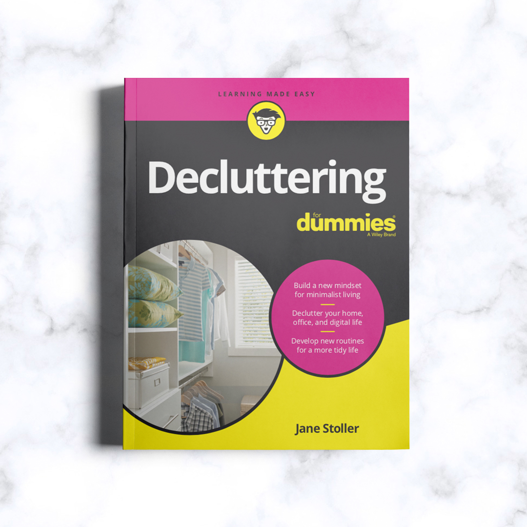 Organizing for Dummies, pre-order.