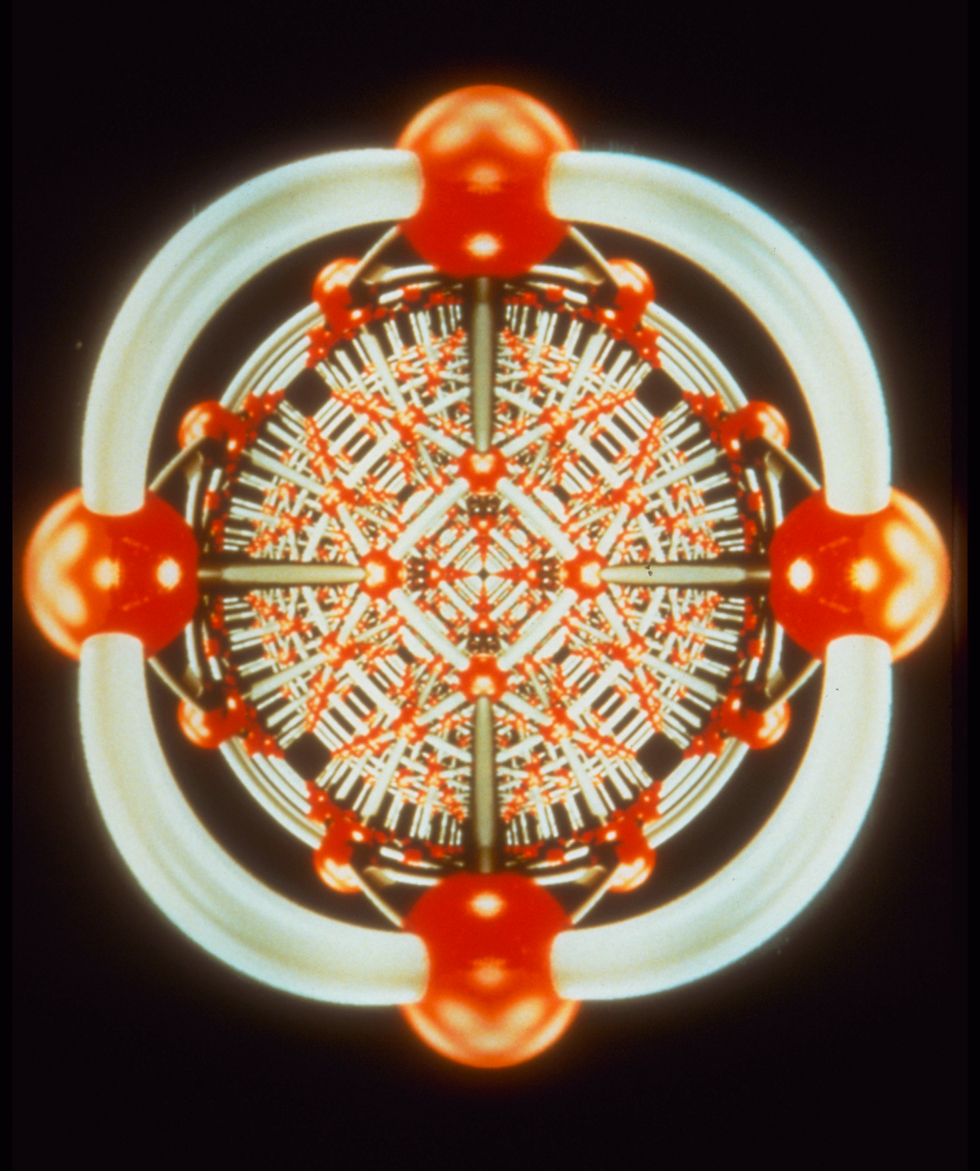 Spacetime Visualization, 1990