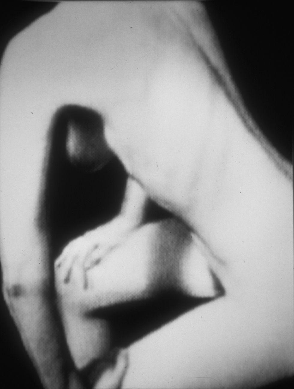 Black and White Nude Study, 1987