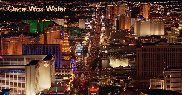 #LasVegas! The city of #WaterConservation. Didn't know? #OnceWasWater explains it all! #TagUs on posts of water sustainability techniques you find interesting!