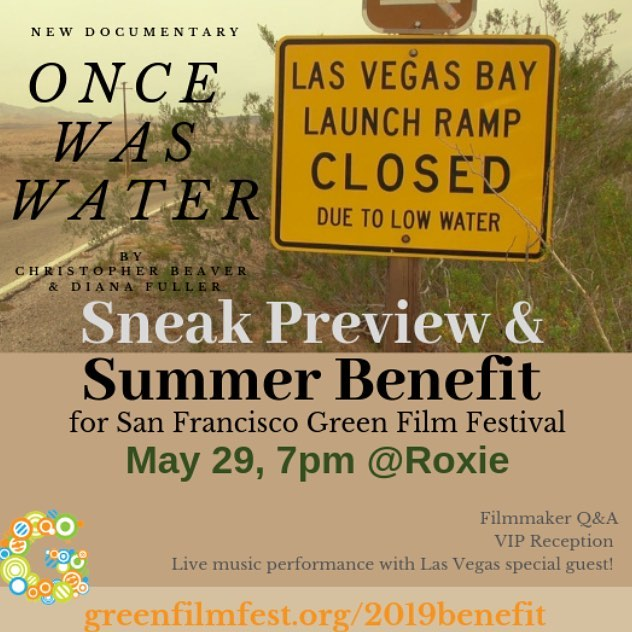 Join us Wednesday, May 29 at 7pm at the @roxie_theater for a special sneak preview of the new documentary @Oncewaswater from director Christopher Beaver and producer Diana Fuller, the creative team behind Racing to Zero: In Pursuit of Zero Waste (SFGFF 2015). This event is a Summer Benefit for the 2019 San Francisco Green Film Festival! #film #oncewaswater #water #watersustainability #waterconservation #documentary