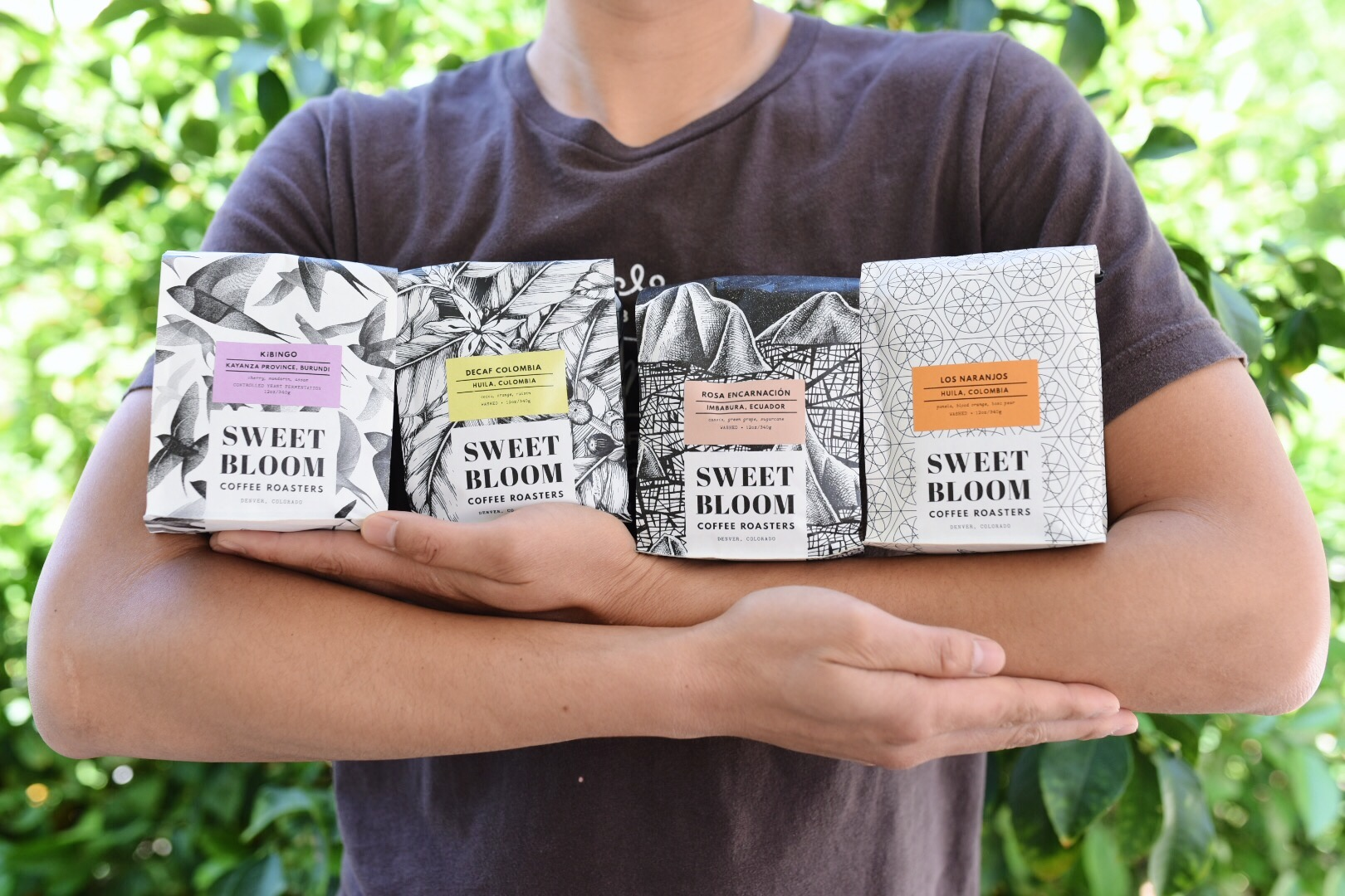 Proudly Serving Sweet Bloom Coffee from Denver, CO.