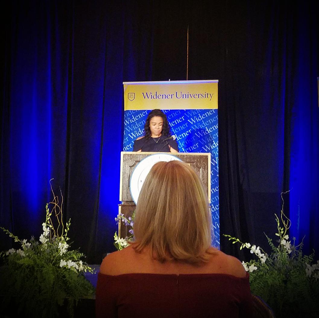 Keynote Alumna Speech - Widener 2017