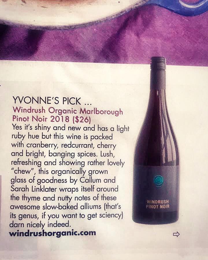 Windrush Organic Pinot Noir NZ Herald 27 April 2019.jpg