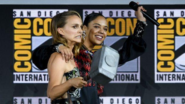 Tessa Thompson and Natalie Portman return for T hor: Love and Thunder