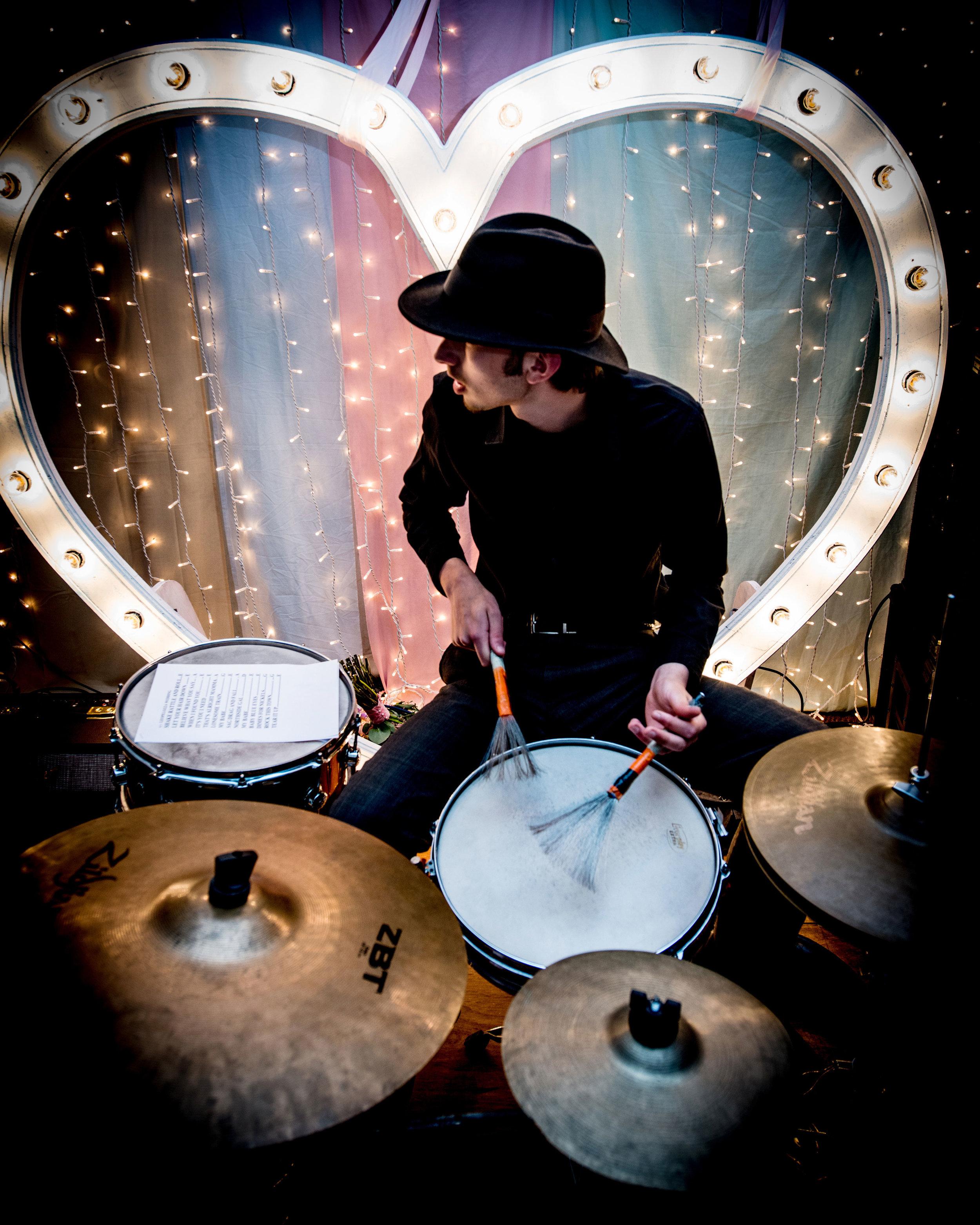 Wedding band drummer