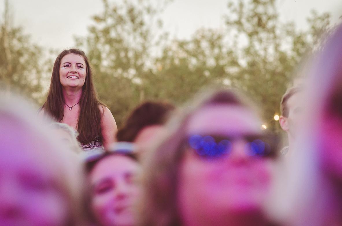 Festival Crowd | Image Courtesy of Lionel Taplin