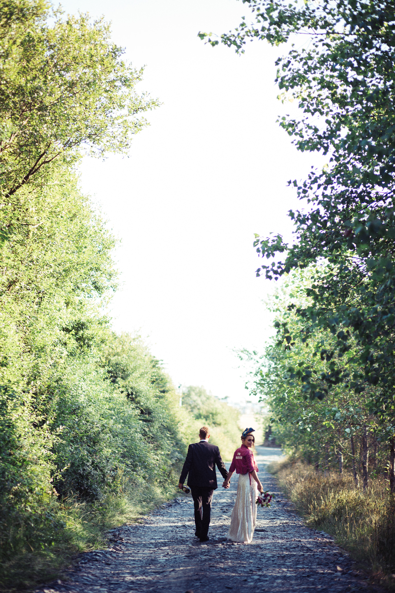 Couple on country road | Image courtesy of Adj Brown