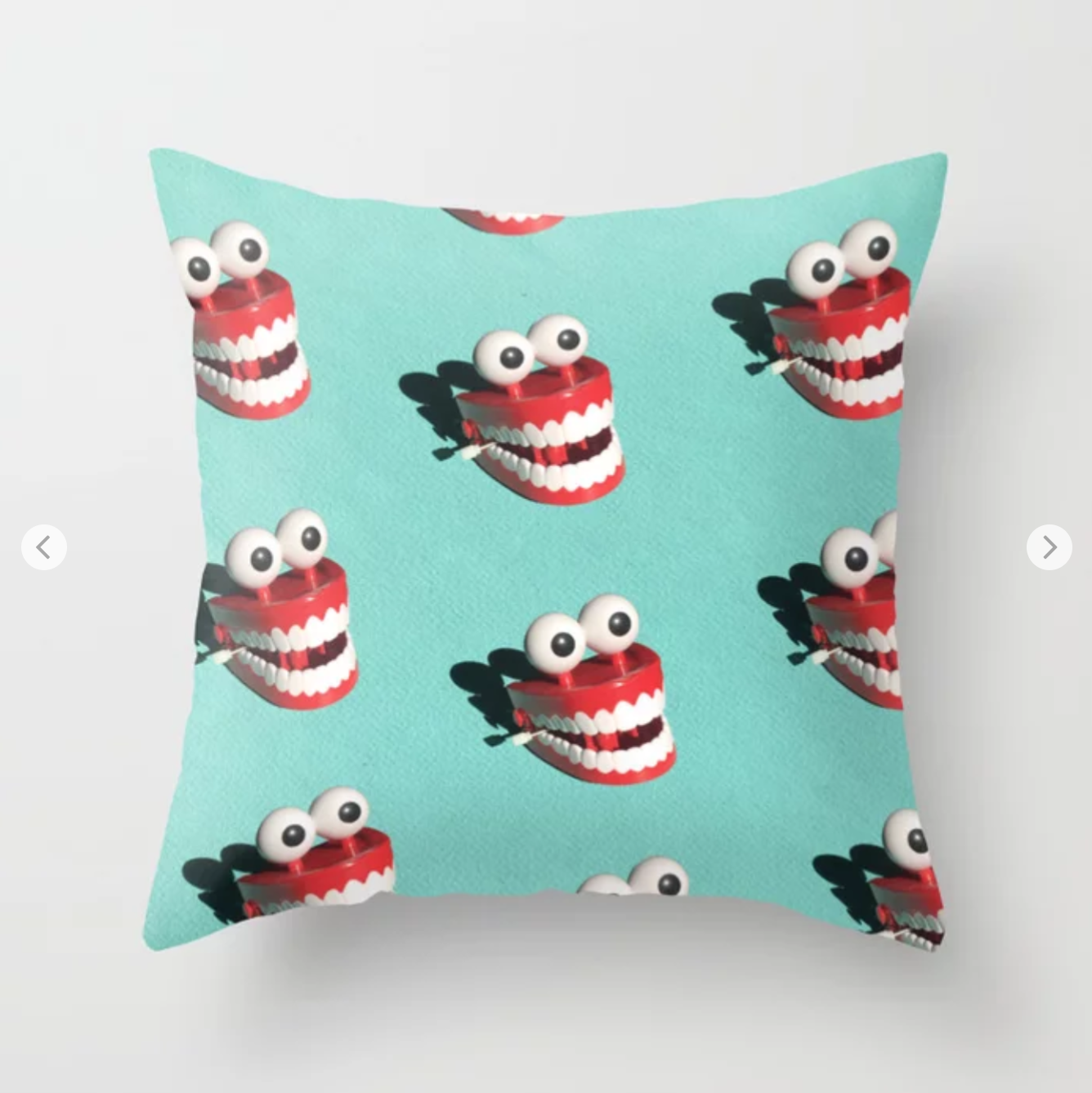 Mr Teeth @ Society6. Shop     here.