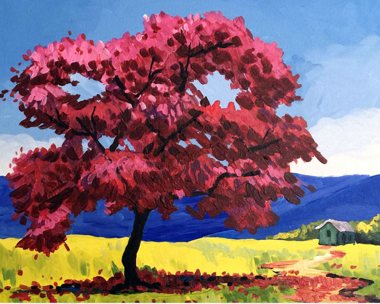 Red Maple (2.5 hours)